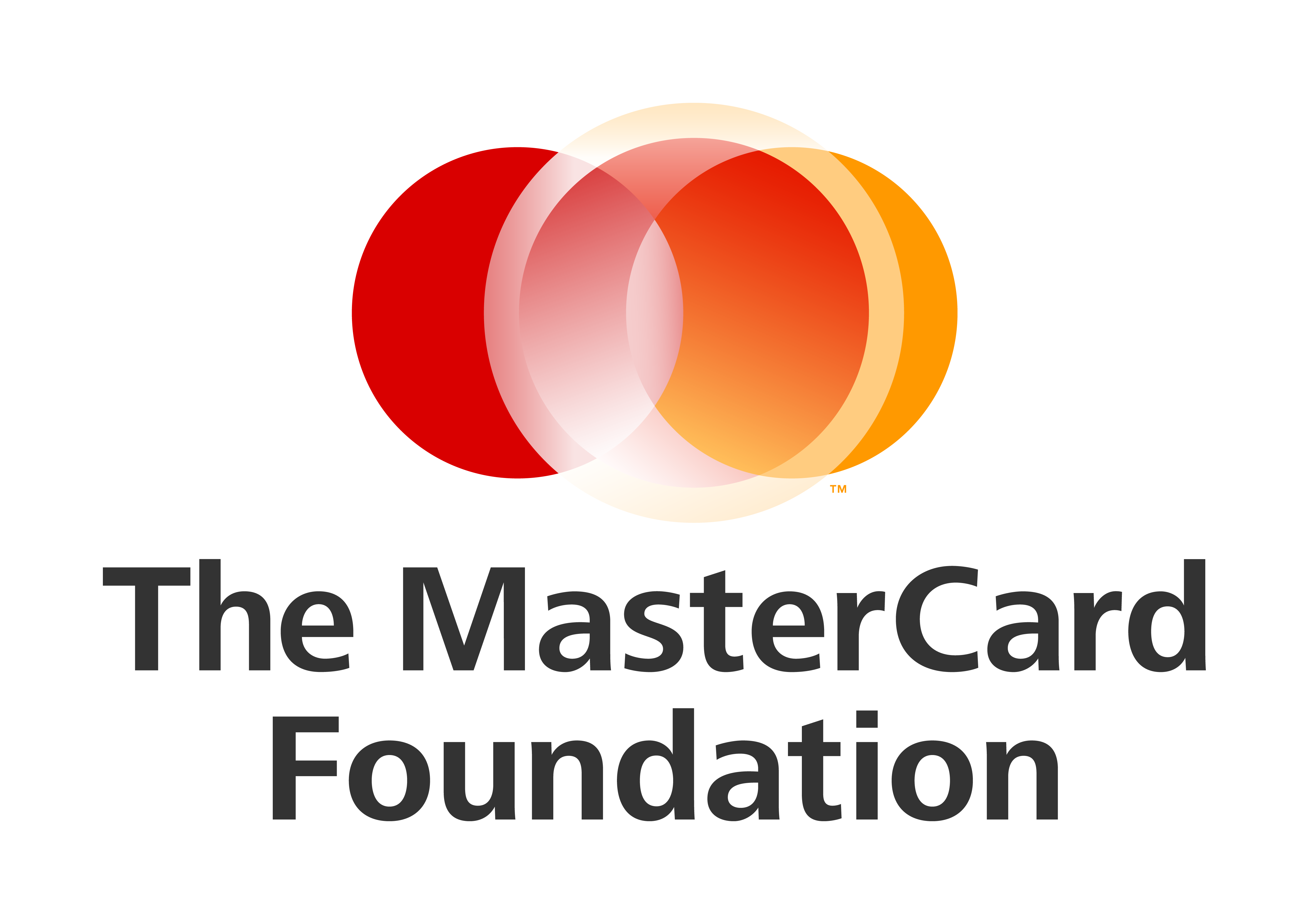 Logo for MasterCard Foundation