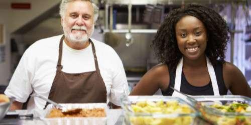 ONN Kitchen Staff in Homeless Shelter