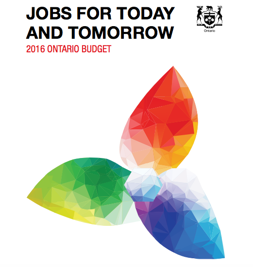Image for 2016 Ontario Budget