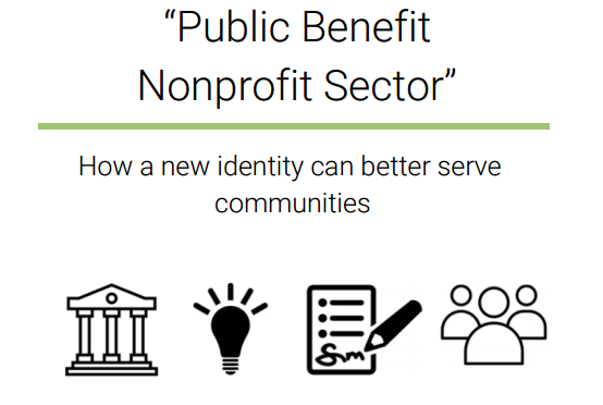 Four reasons the nonprofit sector needs a new name