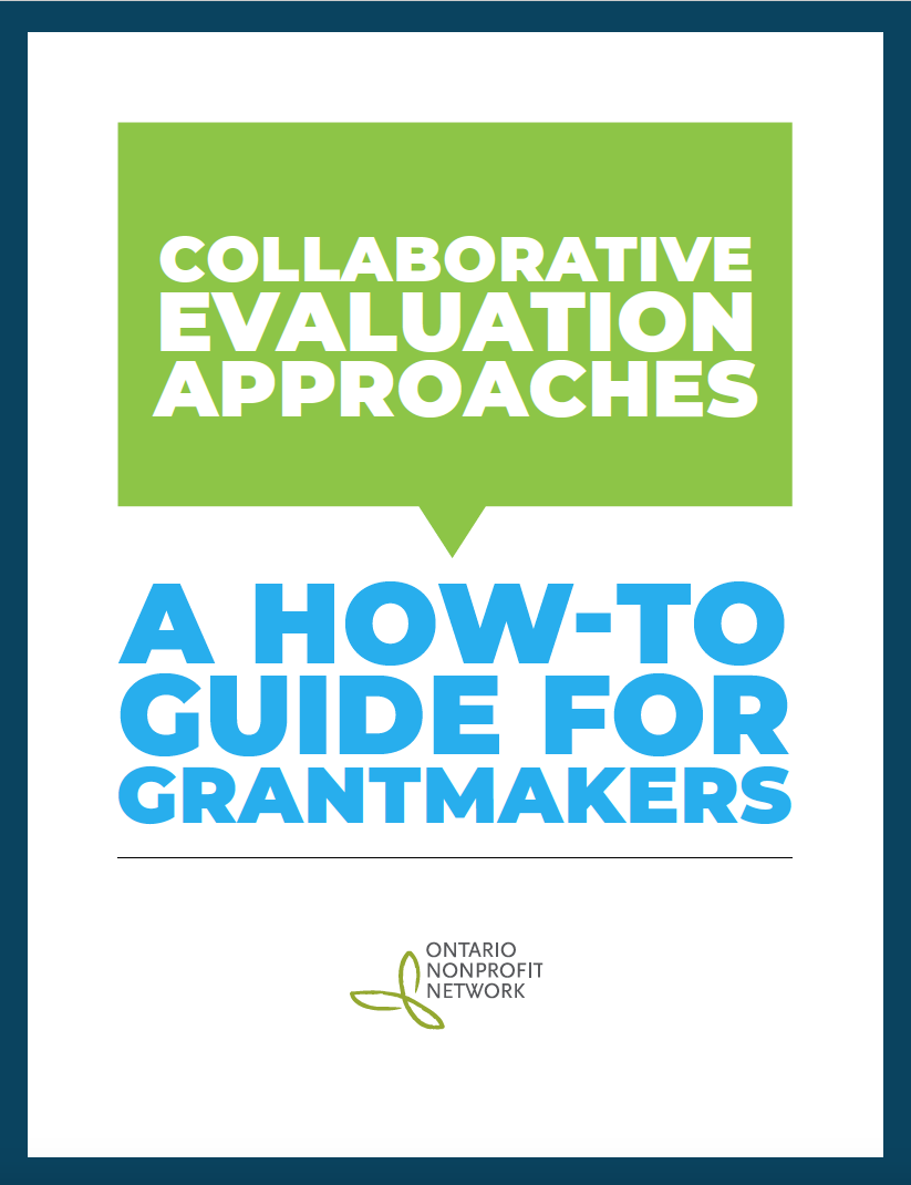 guide: collaborative evaluation approaches