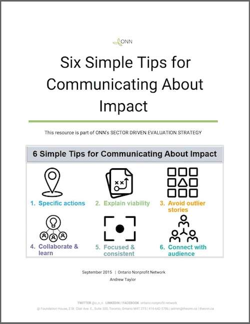 Tips for Communicating about Impact