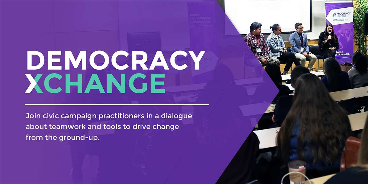 Strengthening democracy requires building community: A taste of Democracy XChange 2019