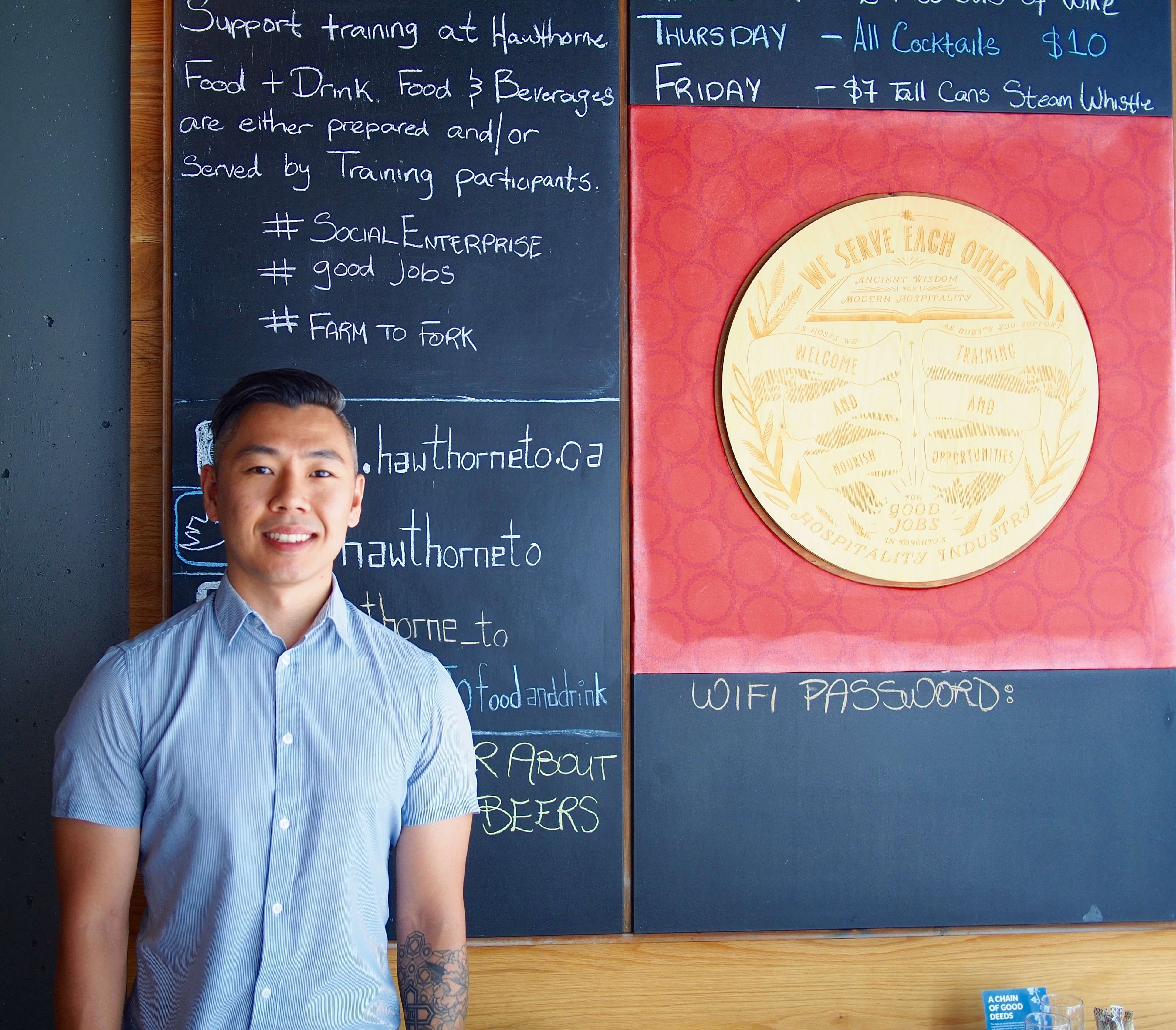 Photo of Ken Tang from Hospitality Workers Training Centre