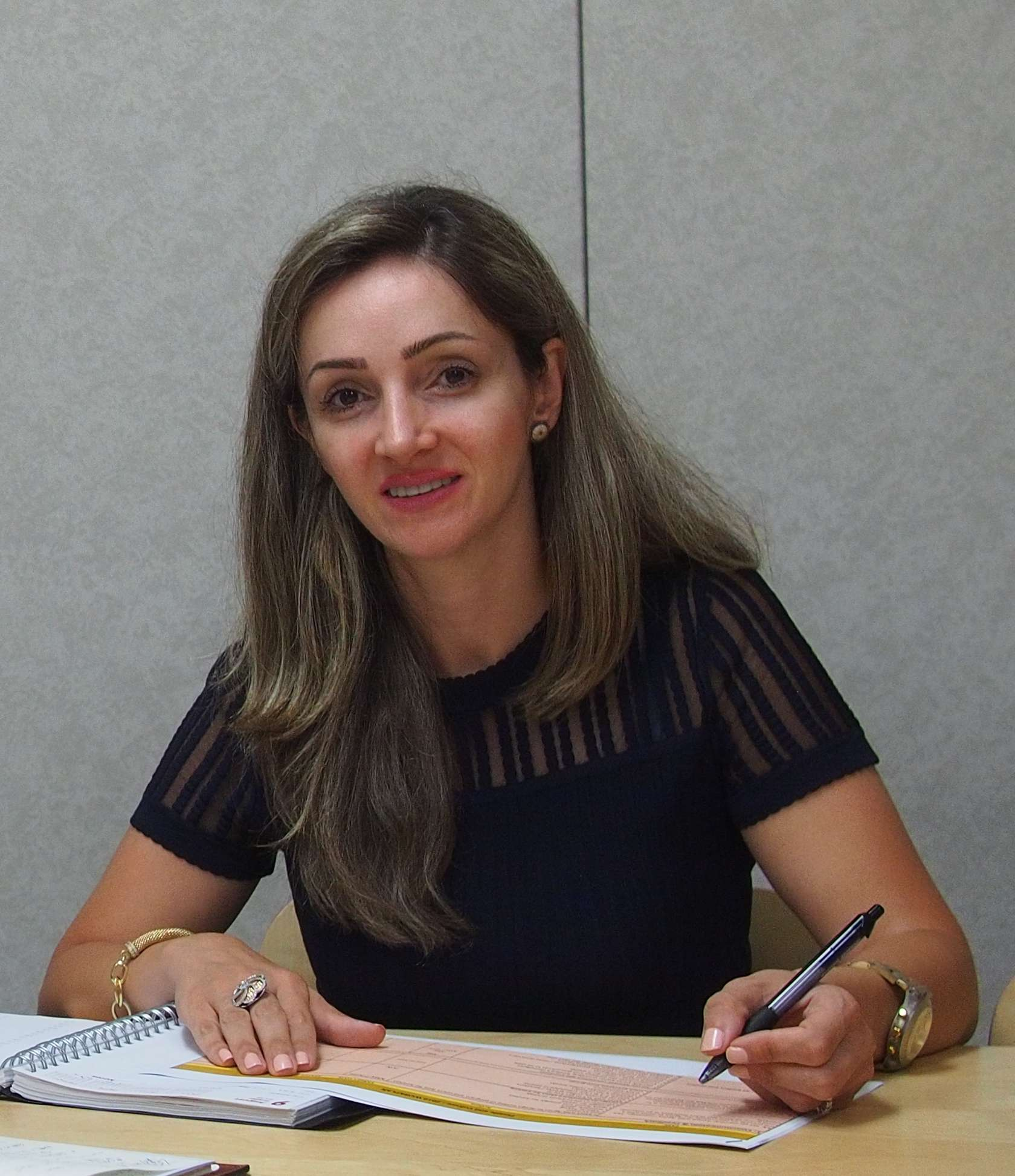 Photo of Tannaz Fadaei from Catholic Crosscultural Services