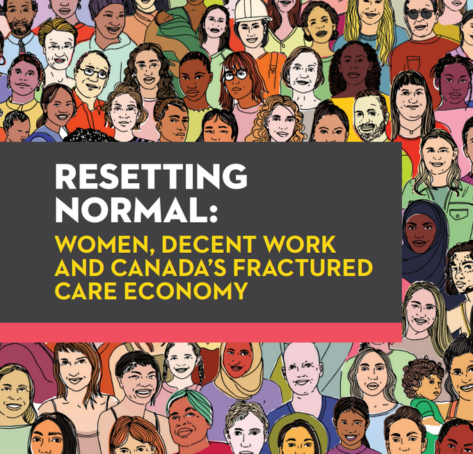 diverse women's face on report cover