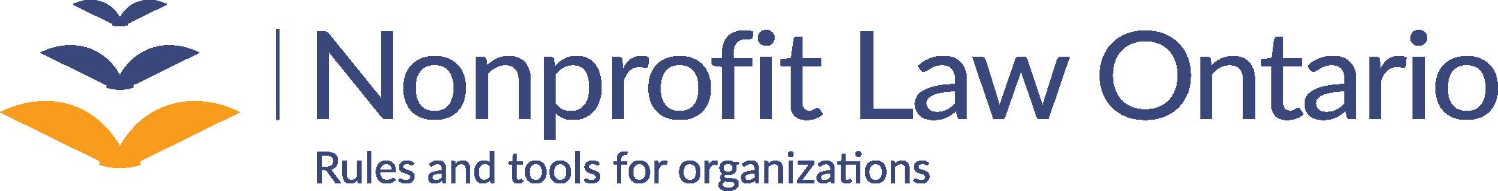 Nonprofit Law Ontario logo